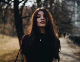 девушка в германии